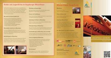 Mozarthaus Programm 2013-2.qxd - Augsburg Tourismus