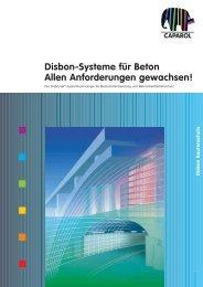 Disbon-Systeme für Beton Allen Anforderungen gewachsen!