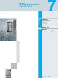 Multifunktionseinheit SIPART DR24 - Nuova Elva