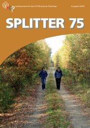 Splitter 3/2009 - VCP Land Rheinland-Pfalz/Saar