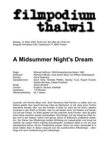 Vorlage mit Untertitel - filmpodium thalwil