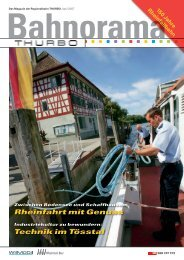 Bahnorama 12 downloaden - Thurbo