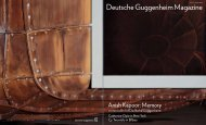Deutsche Guggenheim Magazine - Absoluto
