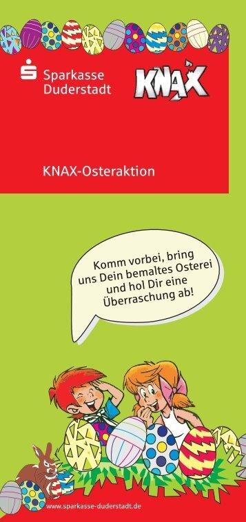 Oster Ei knax flyer .cdr - Sparkasse Duderstadt