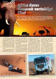 Africa Race: Tomecek verteidigt Titel - KRANMAGAZIN