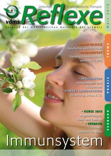 Reflexe Ausgabe März 2010 - vdms