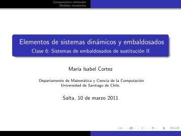 Clase 6 - Departamento de Matemática y Ciencia de la Computación