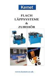 FLACH LÄPPSYSTEME & ZUBEHÖR - Kemet International
