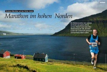 anlass - Tórshavn Marathon
