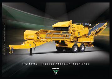 HG4000 Horizontalzerkleinerer