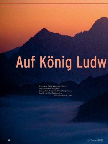 Auf König Ludwigs Spuren - Sektion Hochland
