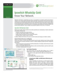 Ipswitch Whatsup Gold