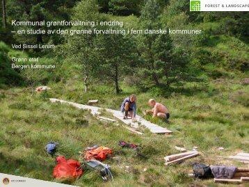 Sissel Lerum - Bad, Park og Idrett
