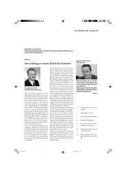 Von Anfang an neues Recht durchsetzen - Procap Grischun