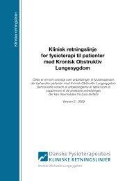 Kort version af klinisk retningslinje til patienter med KOL - Danske ...