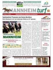 MANNHEIMturf - Badischer Rennverein Mannheim-Seckenheim e.V.