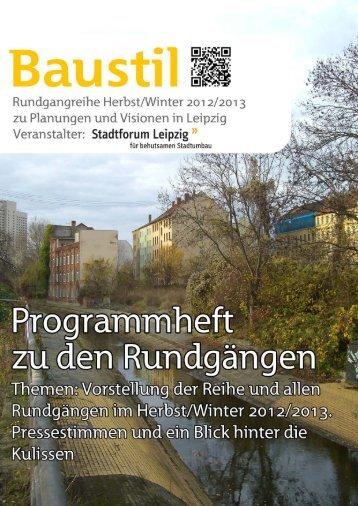 Untitled - NETZWERK Stadtforen Mitteldeutschland