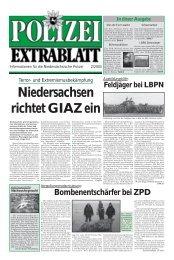 Polizei-Extrablatt, Ausgabe Februar 2005 - Niedersächsisches ...