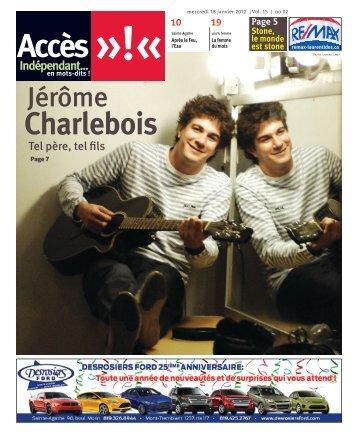 18 janvier 2012 - Accès Laurentides