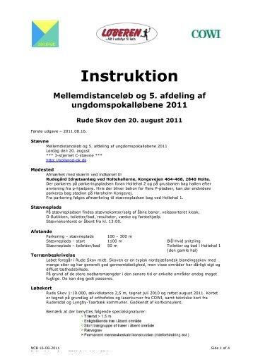 Instruktion Mellemdistanceløb og 5. afdeling af ...