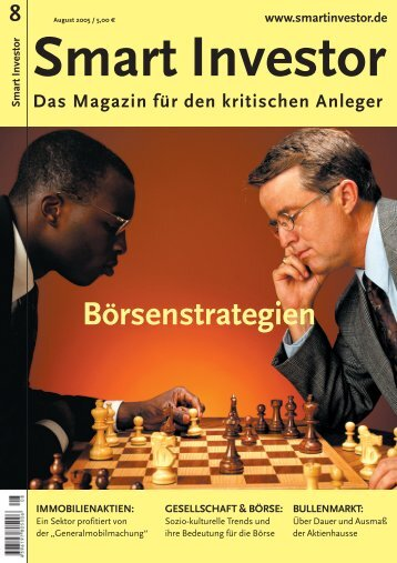 Börsenstrategien IMMOBILIENAKTIEN - Smart Investor