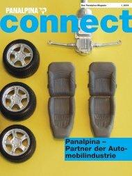 Panalpina – Partner der Auto- mobilindustrie