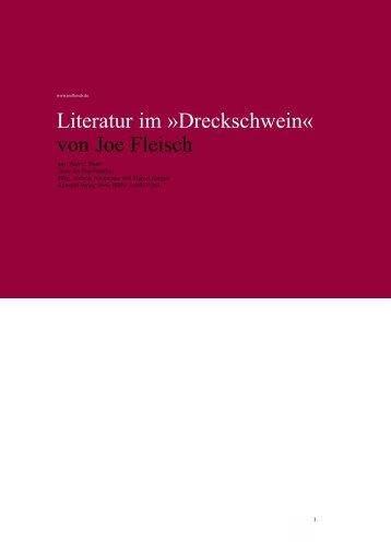 Literatur im »Dreckschwein« von Joe Fleisch