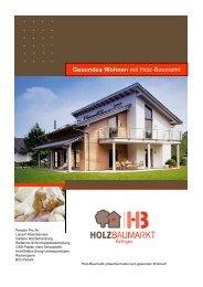 Folder Gesundes Wohnen - Naturmat