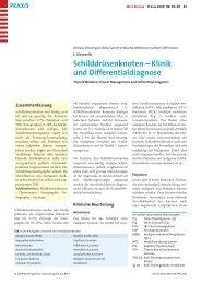 Schilddrüsenknoten - Berner Institut für Hausarztmedizin BIHAM ...