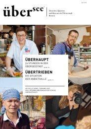 ÜBERHAUPT ÜBERTRIEBEN - uebersee-magazin.de
