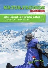 Mitgliederjournal der Naturfreunde Salzburg - Hans-Peter Lacher