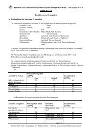 MERKBLATT Konfitüren u.a. Erzeugnisse A Beschreibung der ...