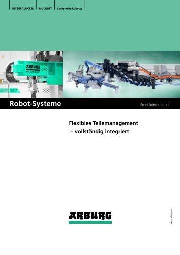 Prospekt: Robot-Systeme - Arburg