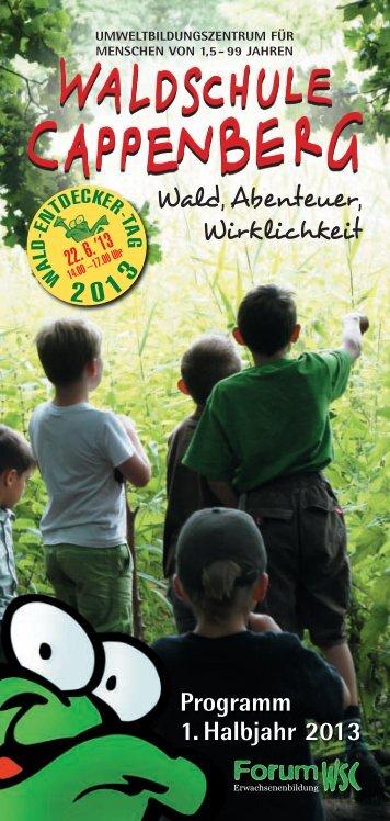 bitte klicken - bei der Waldschule Cappenberg