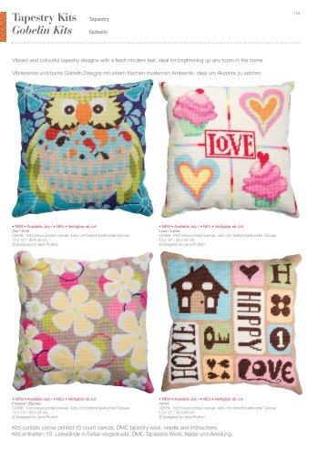 Tapestry Kits Tapestry Gobelin Kits - Knitandsew.co.uk