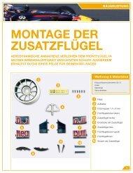 MONTAGE dER ZUSATZFLüGEL - Model Space
