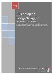 Businessplan Stufe 1
