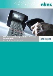 ERP-Komplettlösung optimiert Prozesse bei Barcodat (pdf, 2.660 KB)