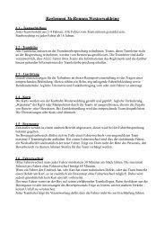 Reglement 3h-Rennen Westerwaldring - Raceduel