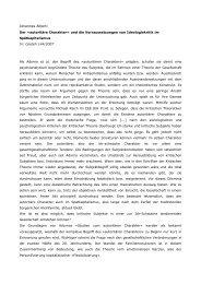 Johannes Alberti Der »autoritäre Charakter - Materialien zur ...