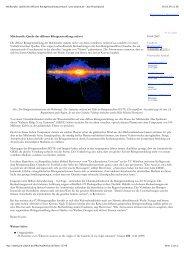 pro-physik.de - das Physikportal - Universe Cluster