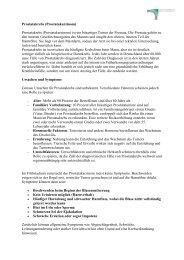 Prostatakrebs - Deutsche Gesellschaft für Mann und Gesundheit