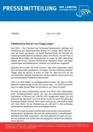 Plattdeutsche können nun Flagge zeigen