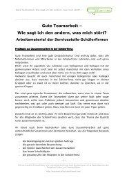 Feedback in Schuelerfirmen - kobra.net