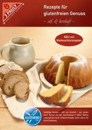 3 PAULY Rezepte für glutenfreien Genuss - süß & herzhaft