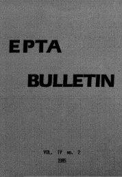 jepta 1985 04-2 - European Pentecostal Theological Association