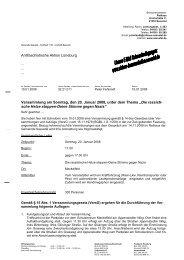 Informationen und Auflagen - Antifaschistische Aktion Lüneburg ...