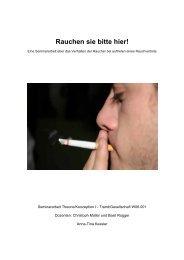 Rauchen sie bitte hier! - socio5.ch
