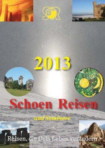 Schoen Reisen - Ludwig Schoen - Seminare und Reisen