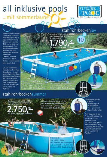Pools berdachungen zubeh r for Aufstellbecken pool
